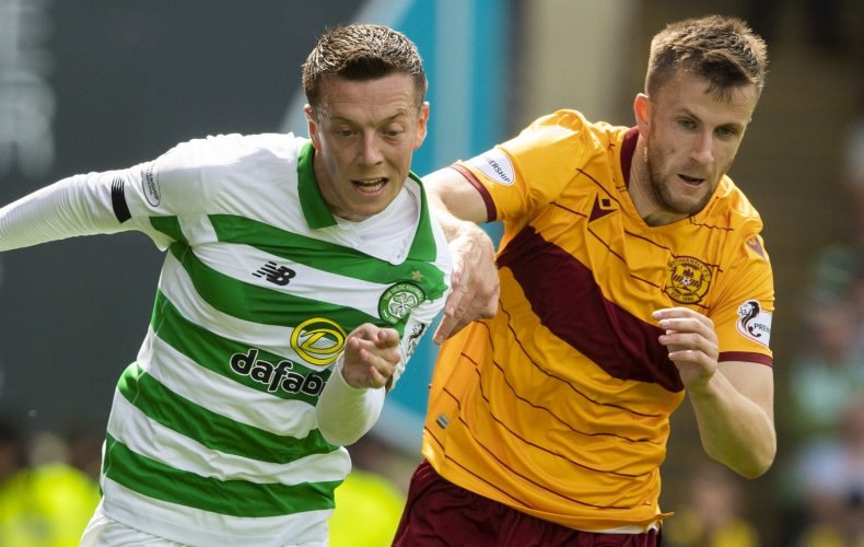 Motherwell lose to rampant Celtic