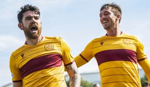 Motherwell claim derby win at Hamilton