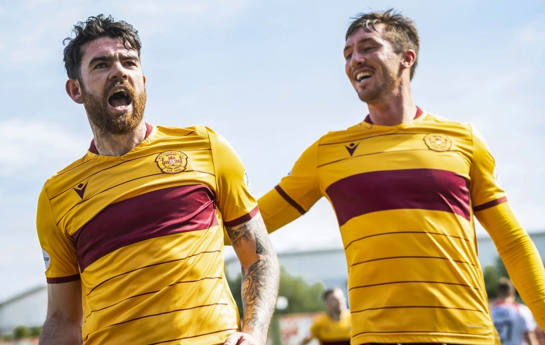 Motherwell claim derby win at Hamilton