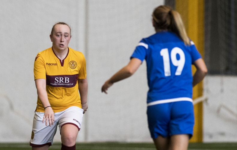 Motherwell v Hibs in SWPL1 on Sunday