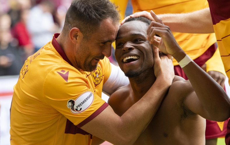 Motherwell claim big win at Hearts