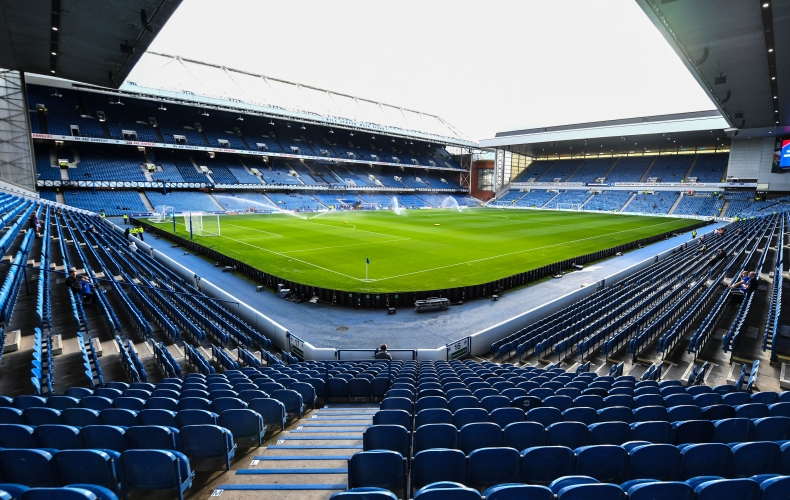 Live commentary available from Ibrox