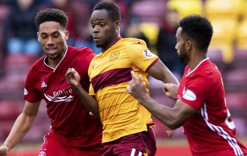 Motherwell lose to Aberdeen