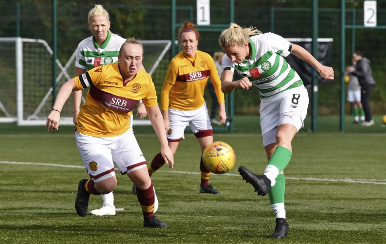 Motherwell suffer defeat at Celtic in SWPL1