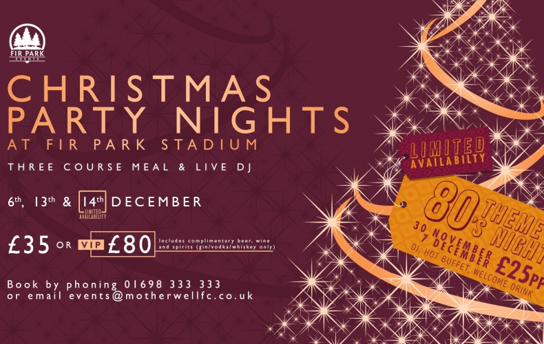 Have your Christmas party night with us