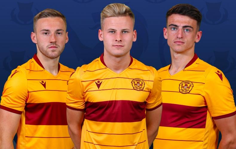 Scotland call for Motherwell trio