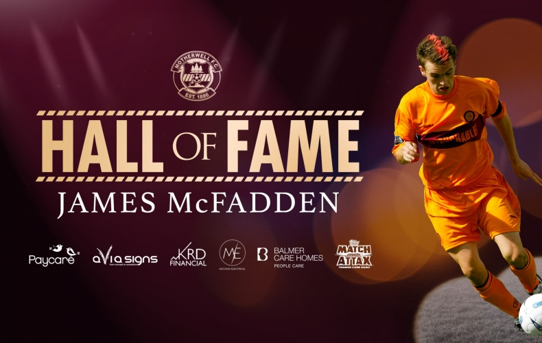 James McFadden inducted to Hall of Fame