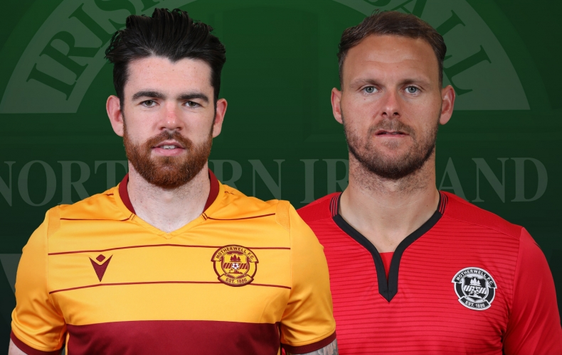 Carson and Donnelly in Northern Ireland squad