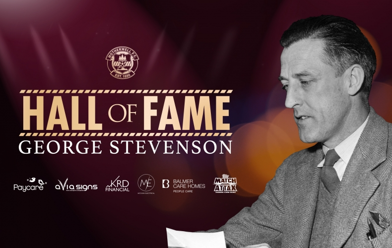 George Stevenson inducted to Hall of Fame