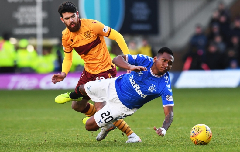 Motherwell fall to Rangers