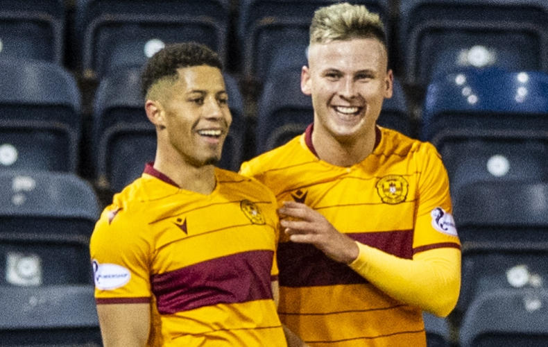 Motherwell go third with win at Kilmarnock