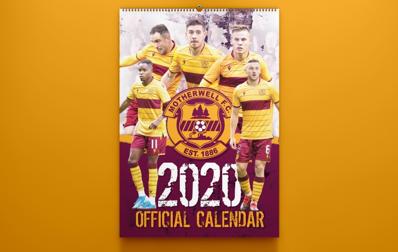 Motherwell FC calendar signing event