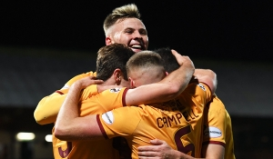 Highlights as Motherwell progress in Scottish Cup