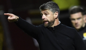 Manager reacts to draw with Hibernian