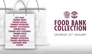 Foodbank Collection On Saturday Motherwell Football Club