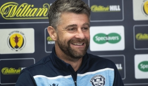 Stephen Robinson previews St Mirren cup replay
