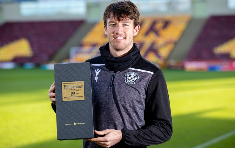 Christopher Long is Tullibardine player of the month