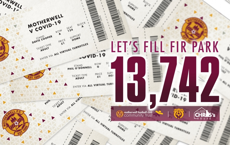 Let's fill Fir Park and raise money for local causes