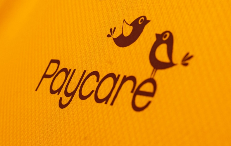 Paycare renew back of shirt partnership