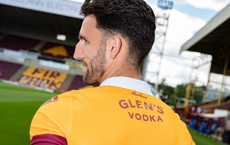 Our new back of shirt sponsor Glen's Vodka