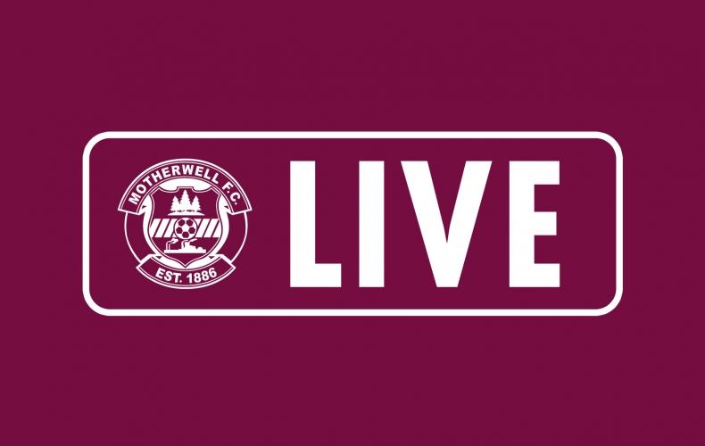 Watch Motherwell v Glentoran live