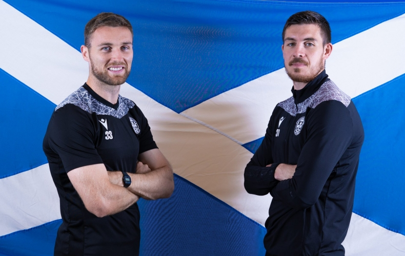 Motherwell pair called into Scotland squad