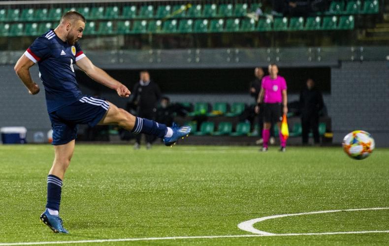 Allan Campbell nets winner for Scotland Under 21s