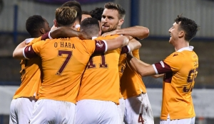Motherwell progress on penalties