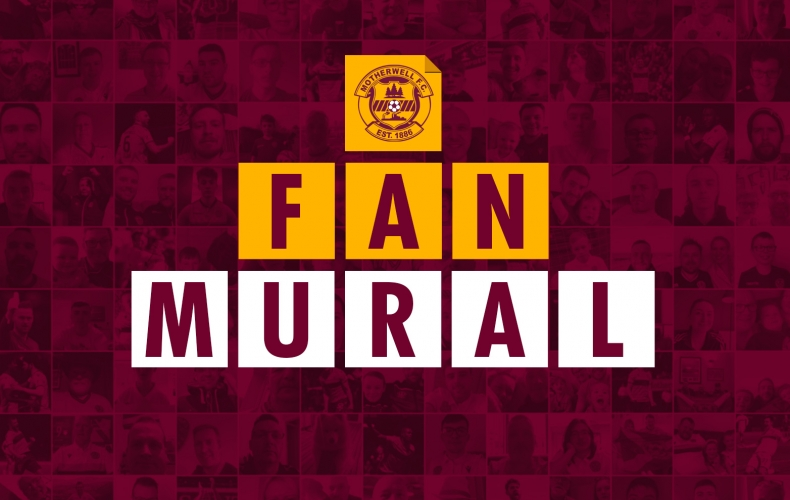 Be part of our new fan mural