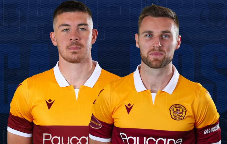 Duo in Scotland squad for triple header