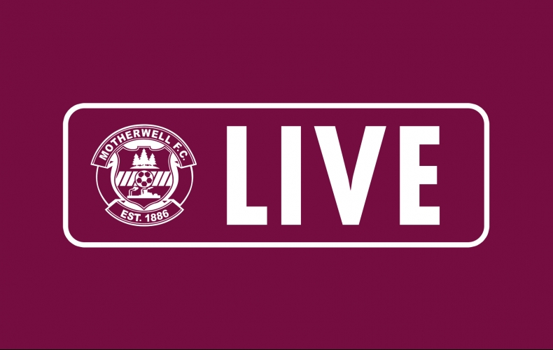 Watch a live stream of Motherwell v St Johnstone