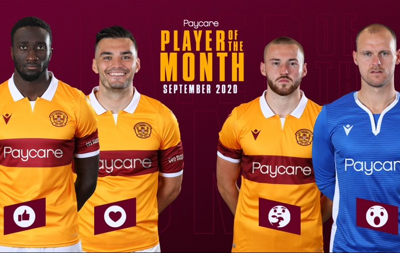 Pick your September player of the month