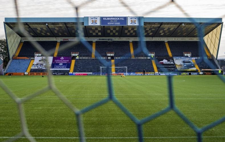 Kilmarnock v Motherwell off