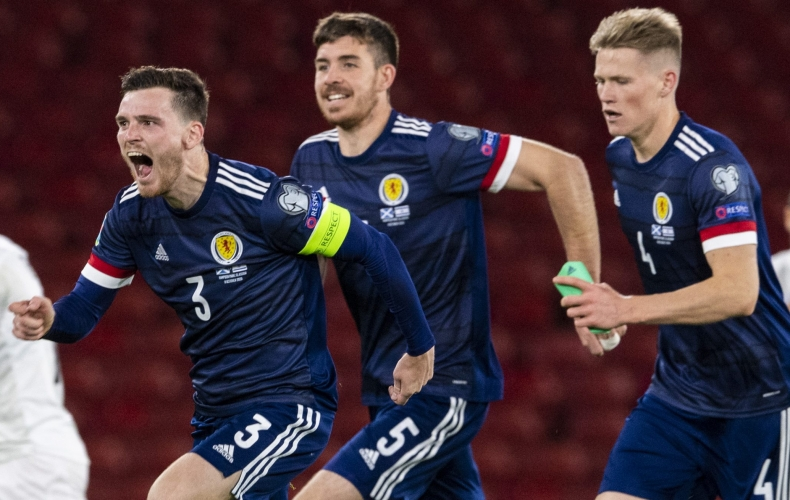Motherwell duo feature as Scotland progress