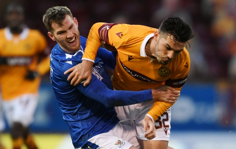 Motherwell 1-2 St Johnstone