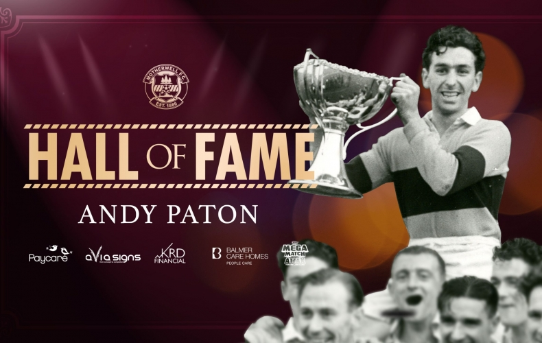 Andy Paton inducted to Hall of Fame