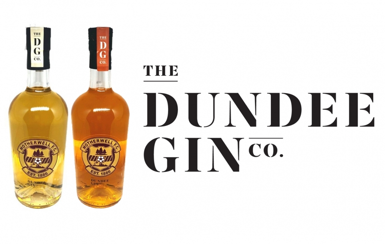 Buy our Motherwell FC branded Dundee Gin