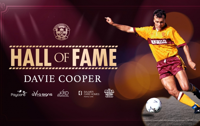 Davie Cooper inducted to Hall of Fame