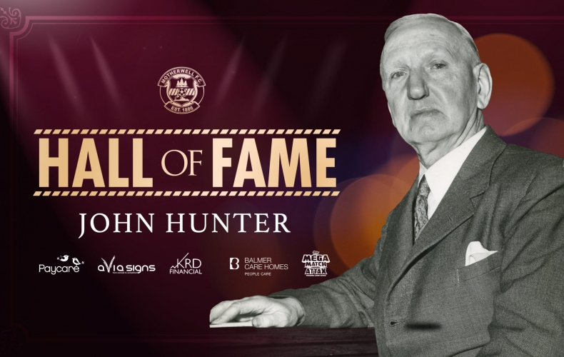 John Hunter inducted to Hall of Fame