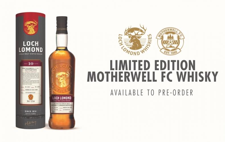 Get your limited edition Motherwell FC Loch Lomond whisky