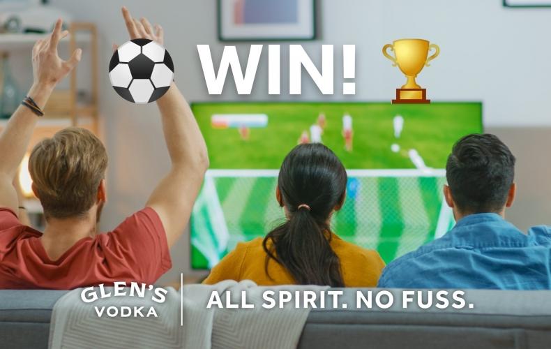 Win a Sony surround sound system with Glen's Vodka