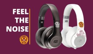 Feel the noise with our branded headphones