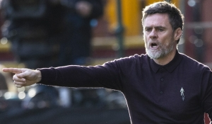 Manager proud of point taken from Rangers