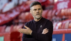 Manager reacts to Aberdeen loss