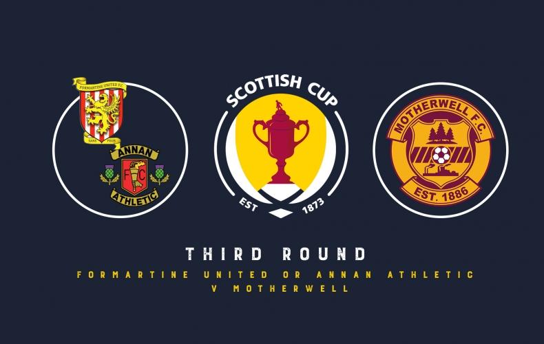 Away trip in Scottish Cup third round draw