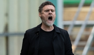 Manager reacts to win at Hibernian