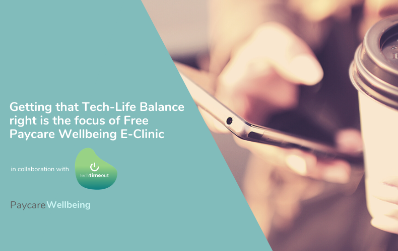 Getting tech-life balance right is focus of free e-clinic