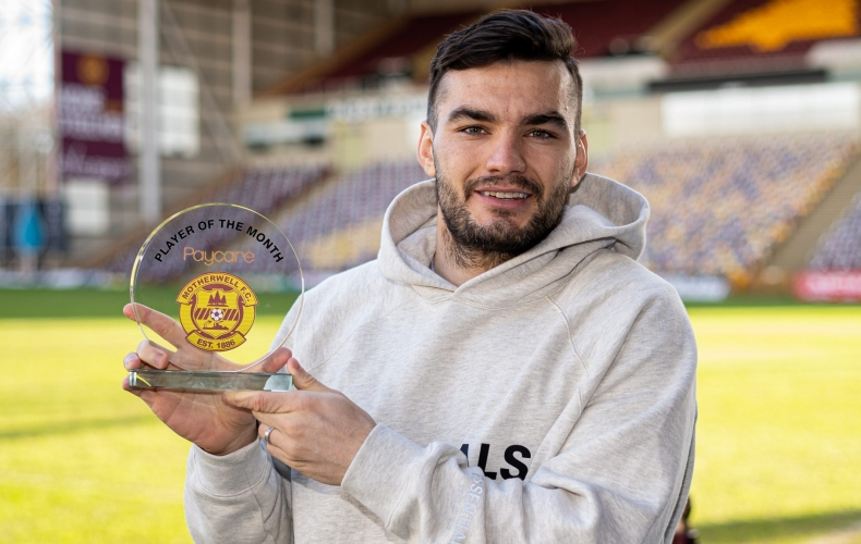 Tony Watt is Paycare Player of the Month for January