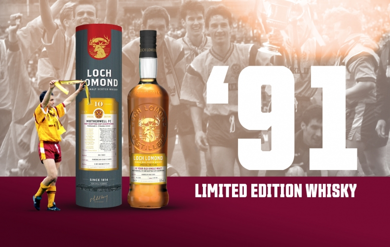 Get your limited edition 1991 Scottish Cup commemorative whisky