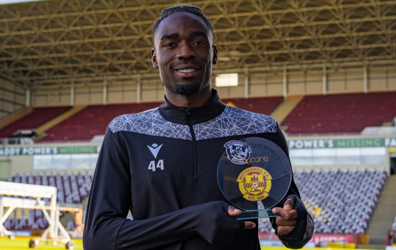 Devante Cole is March's player of the month
